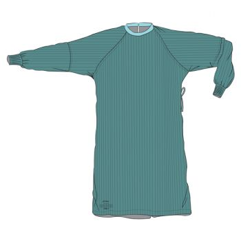 Surgical Gown - Level 2, Two-Ply Front and Sleeves Elbow to Cuff