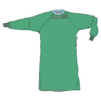 Surgical Gown - Level 4; Full Barrier Front